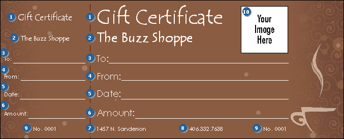 make your own gift certificates online free