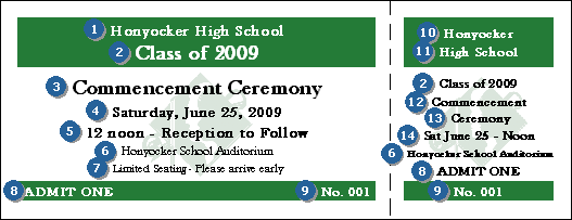 Graduation General Admission Ticket 005 - TicketRiver