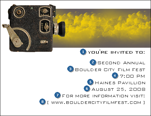Film Festival Invitation