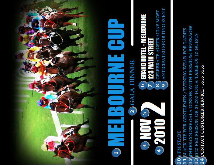 Melbourne Cup Invitation