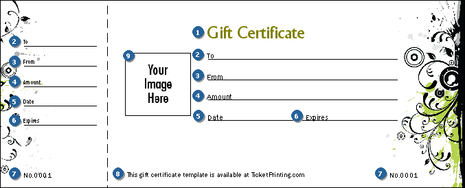 Fashion show gift certificate ticketriver for Fashion show ticket template