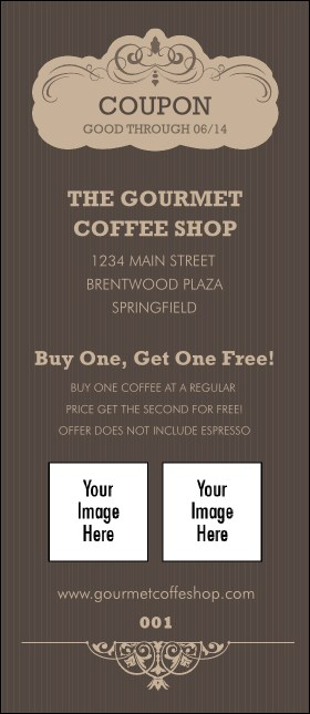Coffee Coupon Product Front