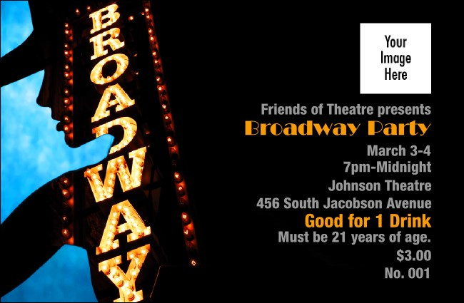 Broadway Drink Ticket