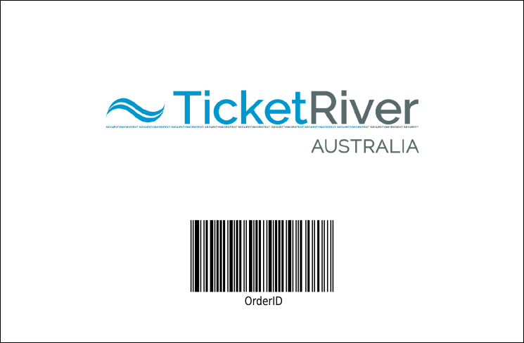 Horse Racing Drink Ticket 002 Product Back