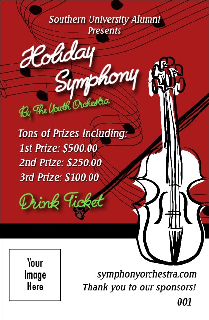 String Symphony Drink Ticket