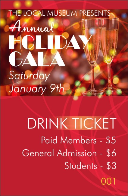Champagne Lights Drink Ticket