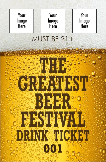 Beer Festival Drink Ticket