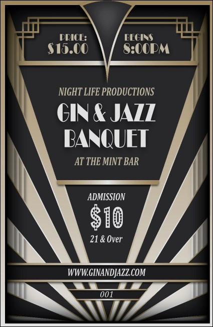 Roaring 20s Drink Ticket