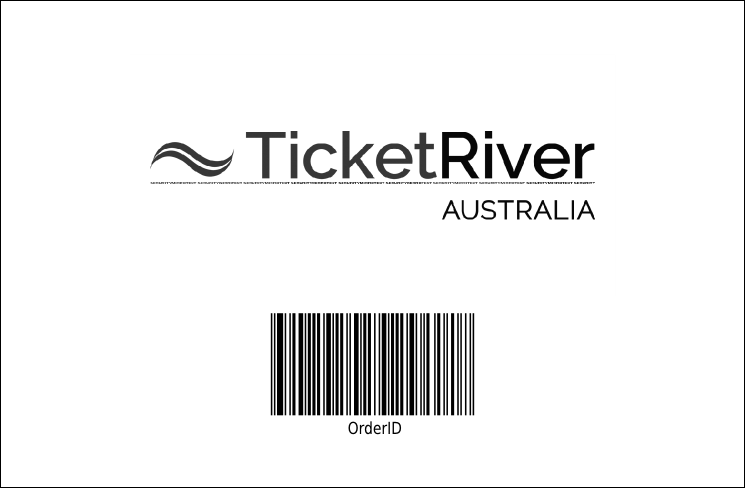 Hollywood Drink Ticket (Black and white) Product Back