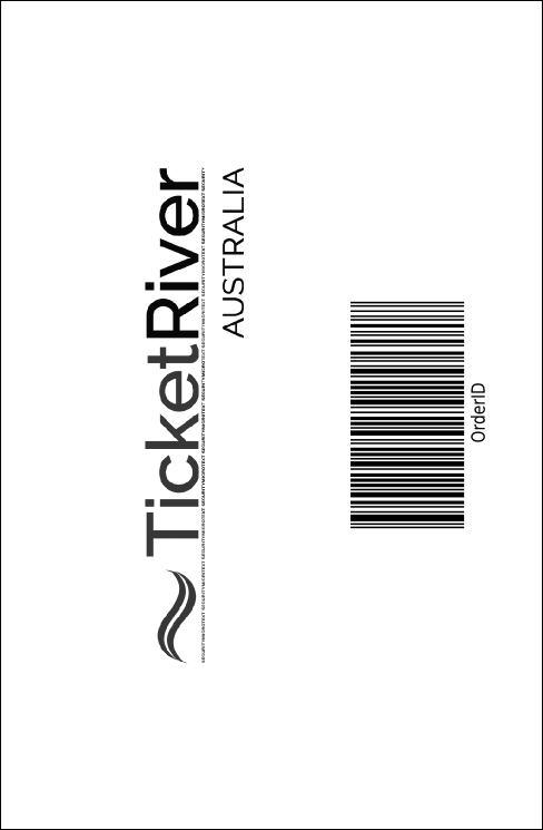 Sydney Drink Ticket (Black and White) Product Back