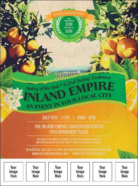 Inland Empire Logo Flyer