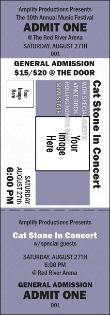 All Purpose Big Logo Purple  Event Ticket