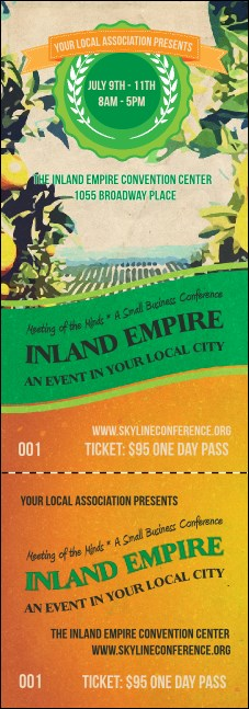Inland Empire Event Ticket