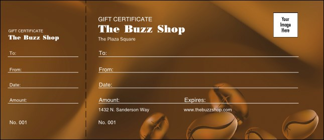 Coffee Gift Certificate