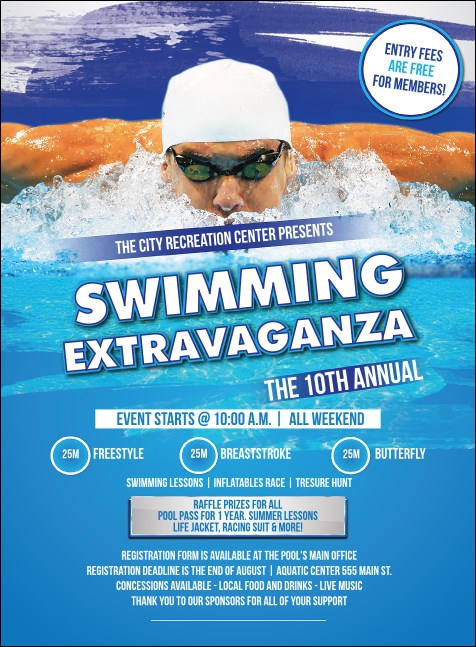 Swimming Invitation
