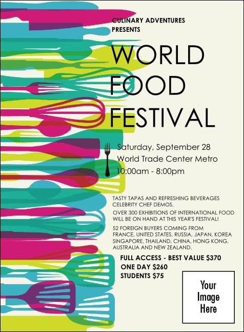 World Food Festival Invitation