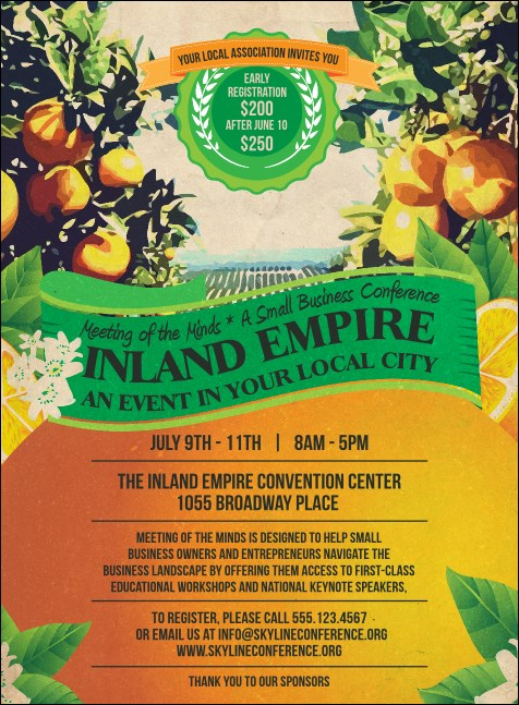 Inland Empire Invitation