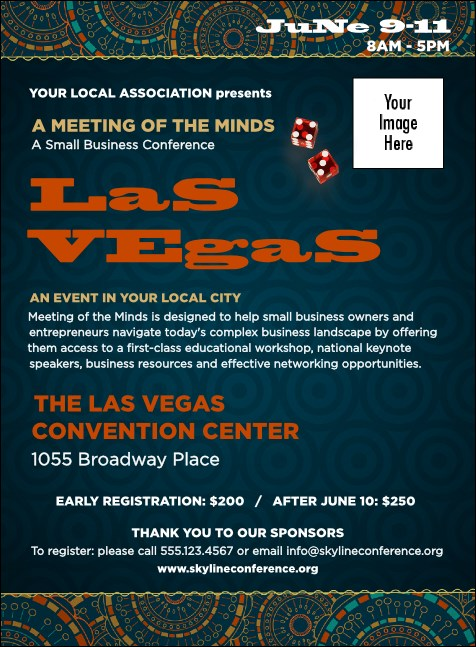 Las Vegas Lucky Invitation