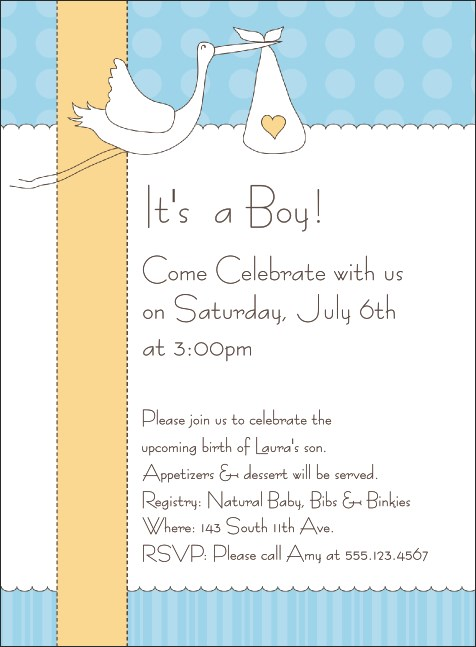 Baby Shower Invite 001