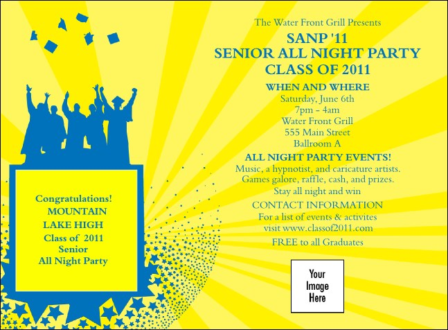 Bright Ideas Graduation Invitation 01