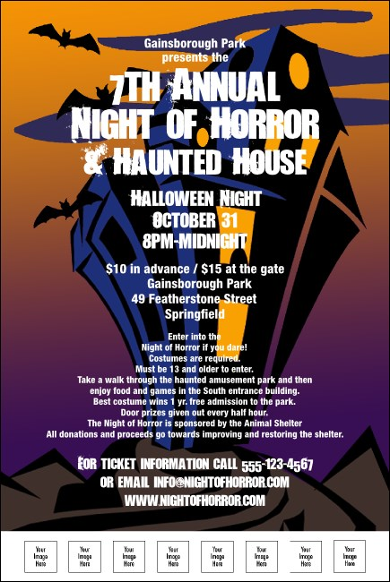 Haunted House Poster 003