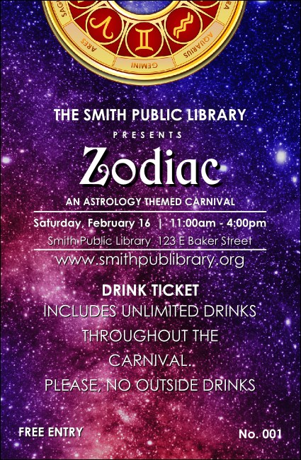 Astrology Drink Ticket