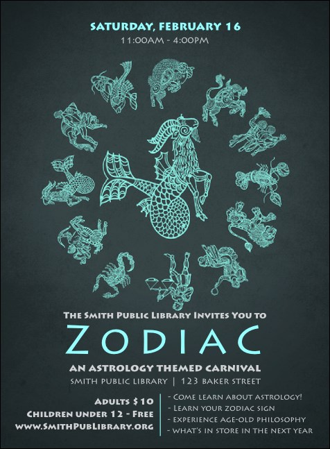 Zodiac Invitation