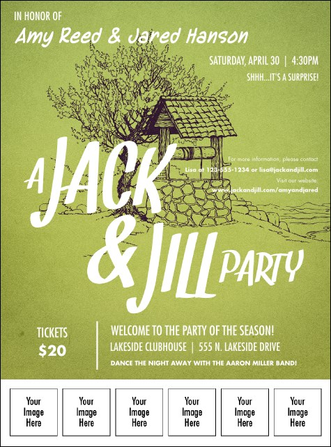 Jack and Jill Logo Flyer