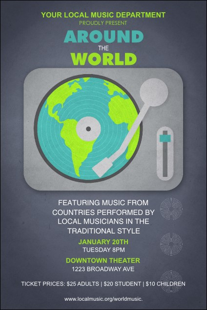 World Music Poster