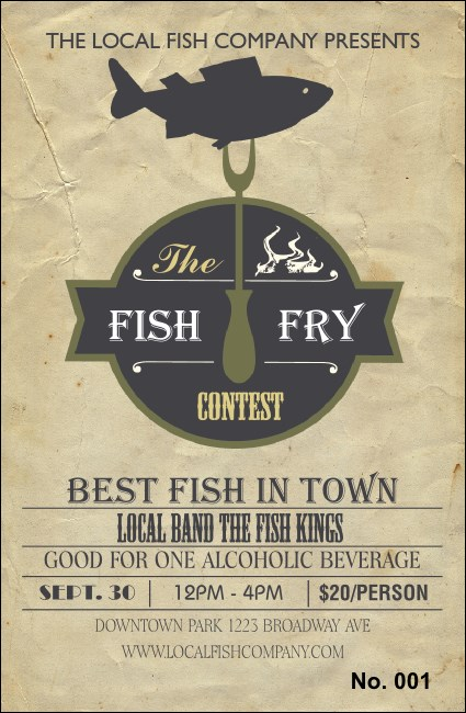 Fish Fry Drink Ticket