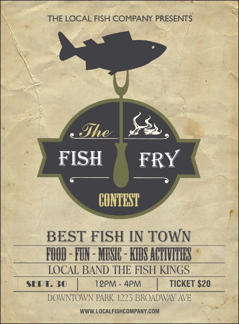 Fish Fry Invitation