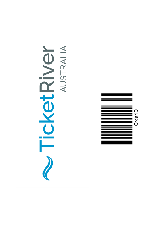 Summer Cut Paper Drink Ticket Product Back
