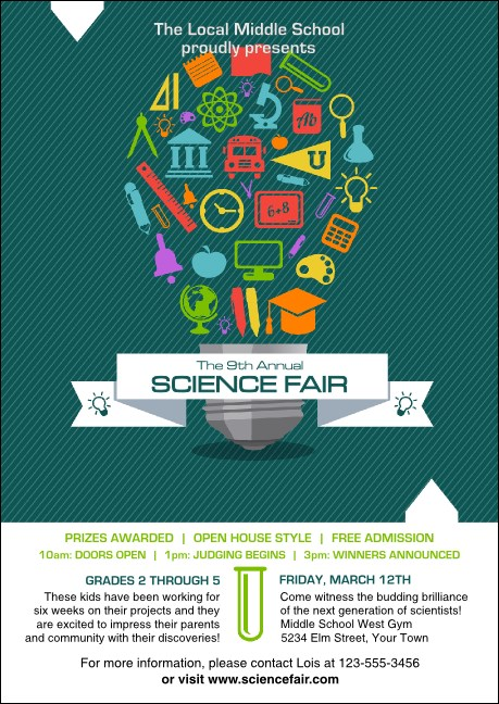 Science Fair Postcard
