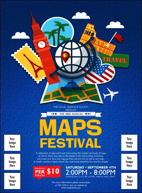 Travel Logo Flyer