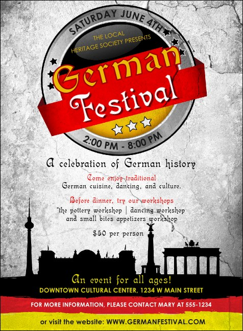 German Invitation