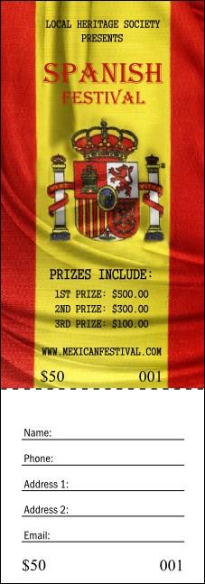 Ticket Spanisch