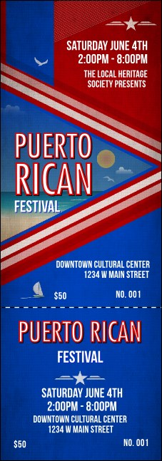 Puerto Rico Event Ticket