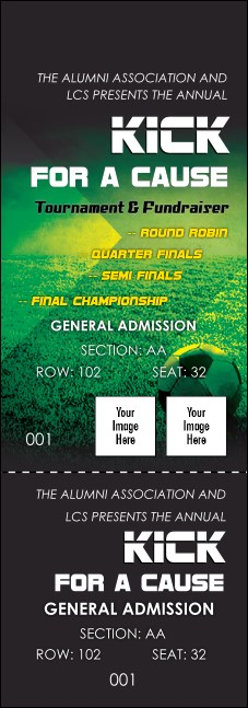 Soccer Field Reserved Event Ticket