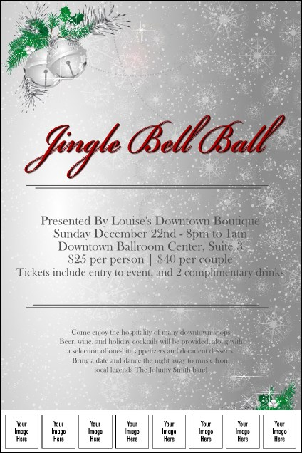 Jingle Bells Logo Poster