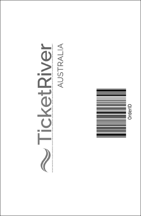 All Purpose buildings Black and White Drink Ticket Product Back