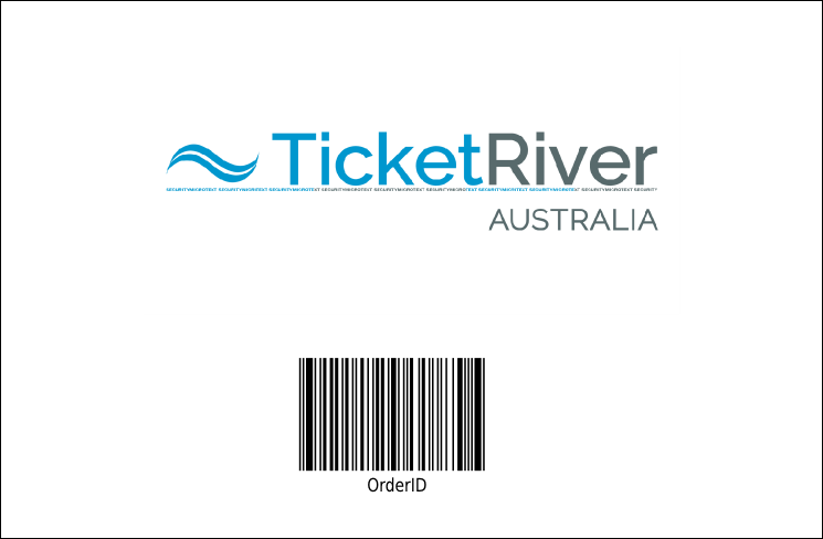 Australia Day Drink Ticket Product Back